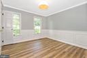Double Doors Open To The Formal Dining Room - 105 REDHAVEN CT, THURMONT