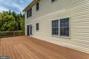 Deck - 105 REDHAVEN CT, THURMONT