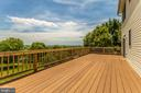 Huge Entertainment Sized Deck - 105 REDHAVEN CT, THURMONT