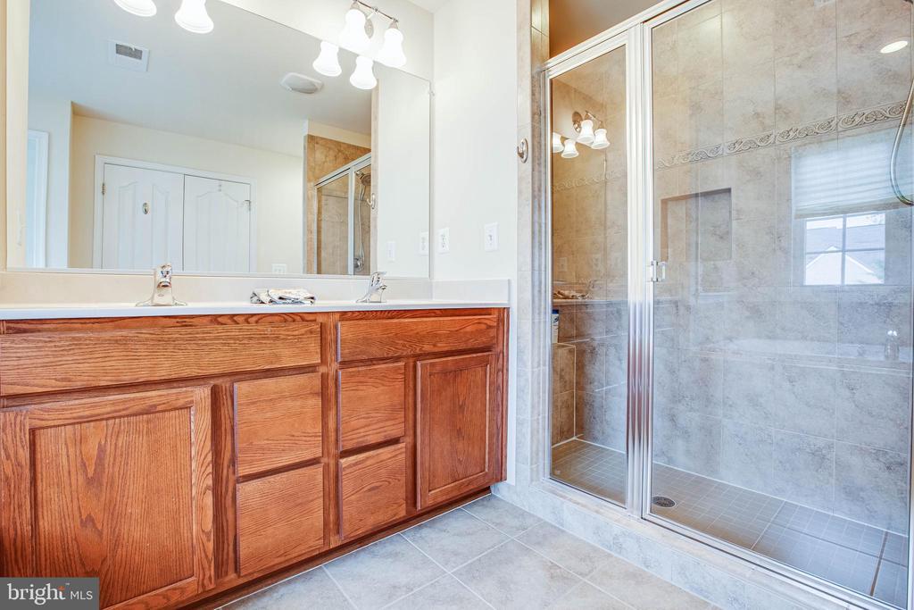 Master Bathroom/ Shower - 1025 SCARLET LN, CULPEPER