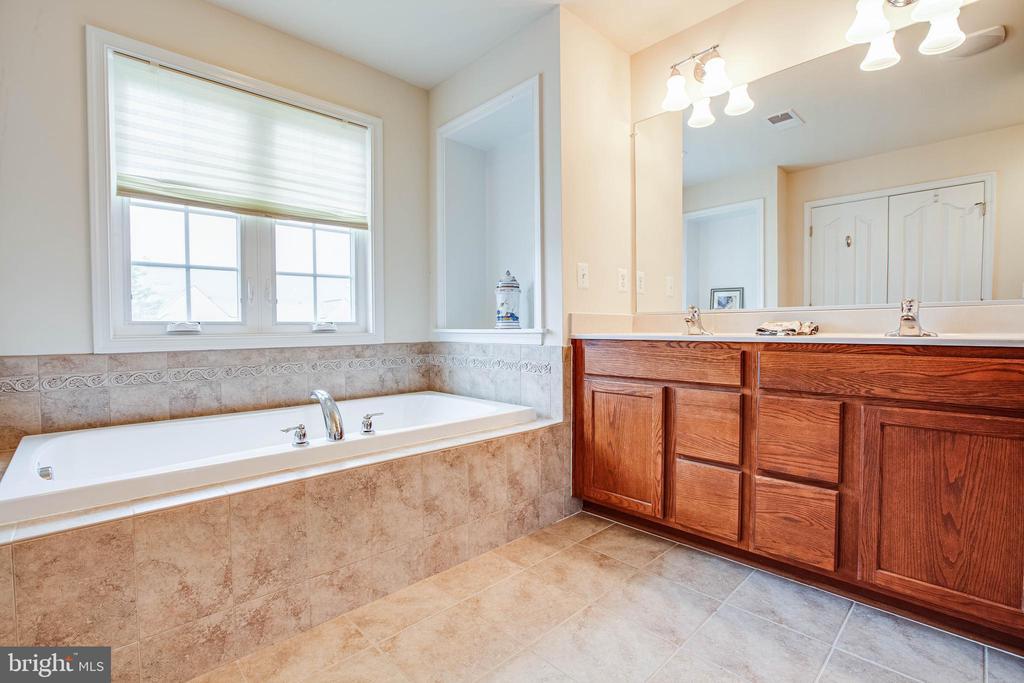 Master Bathroom/ Soaking Tub - 1025 SCARLET LN, CULPEPER