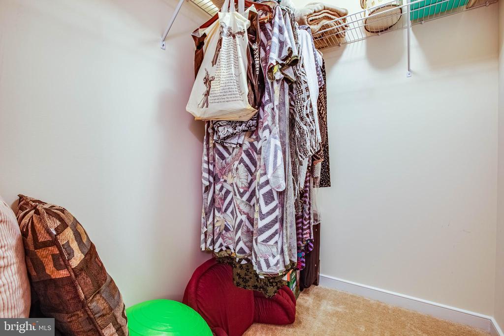 walk in closet bed 3 - 1025 SCARLET LN, CULPEPER