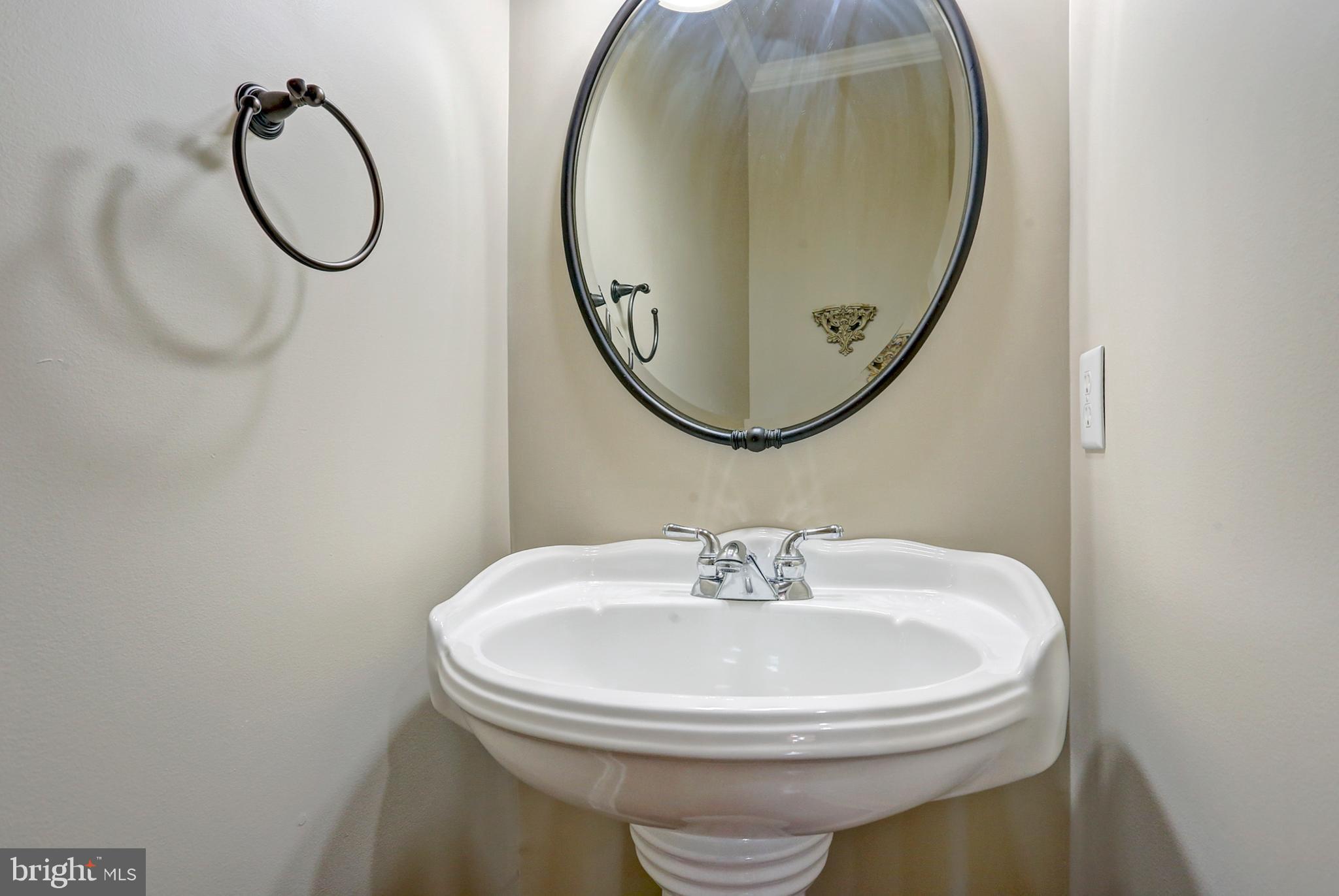 Half Bathroom on the Main Level