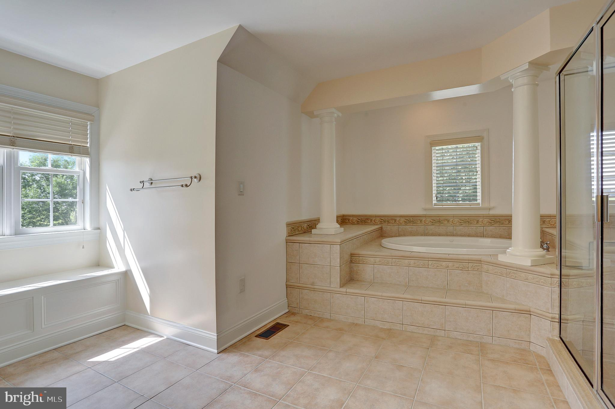 Tile Floors in the Master Bathroom