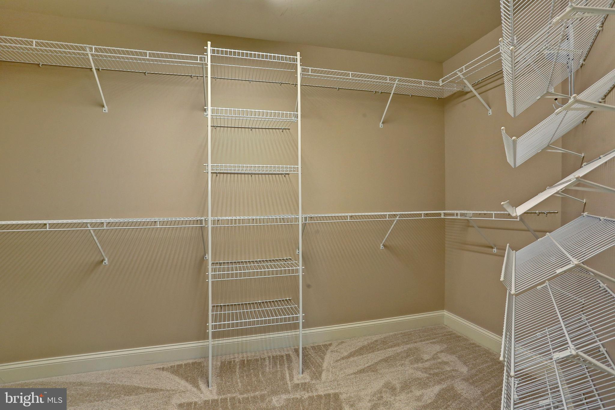 Nice Sized Walk-In Closet in the Master Bedroom