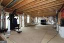 Unfinished basement waiting for you to finish it! - 17352 TEDLER CIR, ROUND HILL