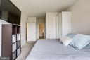 Master Bedroom with Ensuite Full Bathroom - 23297 SOUTHDOWN MANOR TER #116, ASHBURN