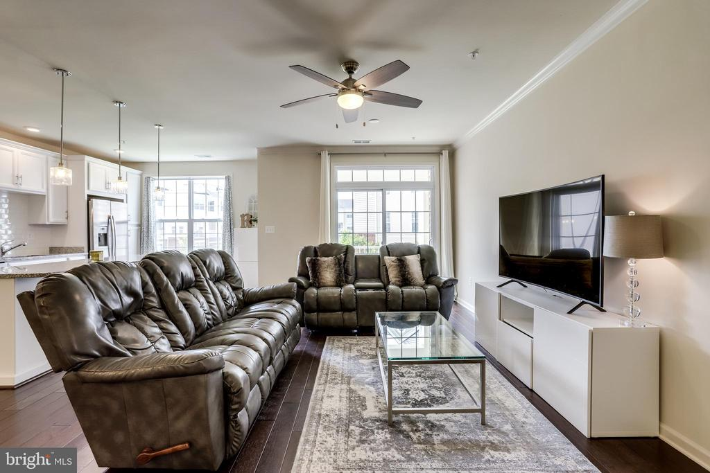 Large Great Room - 23297 SOUTHDOWN MANOR TER #116, ASHBURN