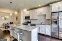 Gourmet Kitchen with Granite Counters - 23297 SOUTHDOWN MANOR TER #116, ASHBURN