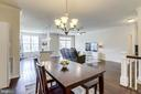 Spacious Dining Area - 23297 SOUTHDOWN MANOR TER #116, ASHBURN