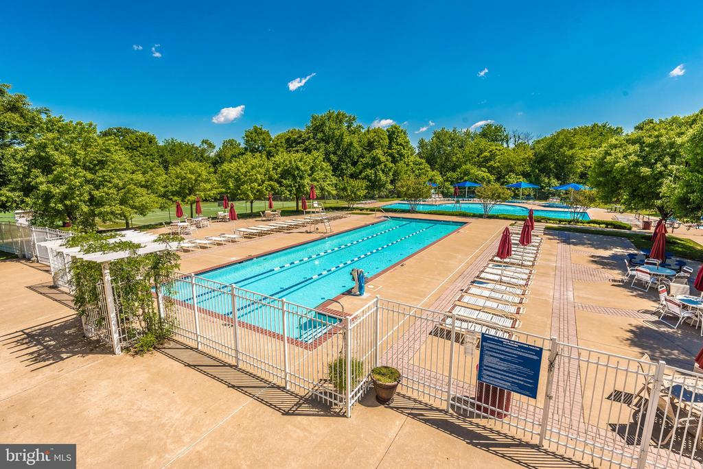 Community pool. - 2689 MONOCACY FORD RD, FREDERICK