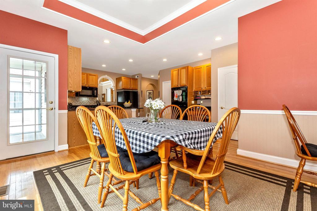 Cozy breakfast area off kitchen. - 2689 MONOCACY FORD RD, FREDERICK