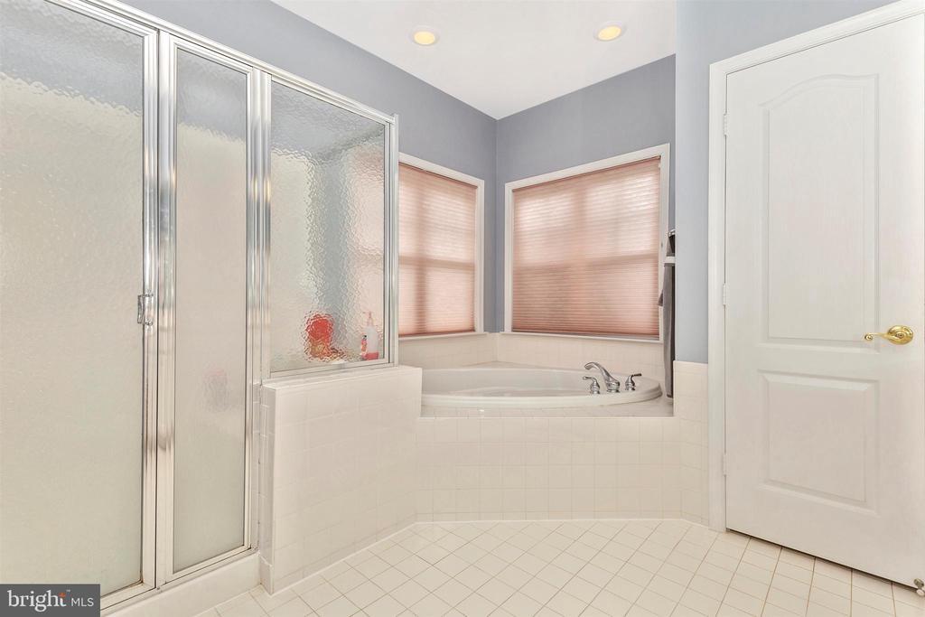 Main level master bath - soaking tub. - 2689 MONOCACY FORD RD, FREDERICK