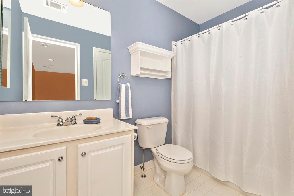 Upper level full hall bathroom. - 2689 MONOCACY FORD RD, FREDERICK