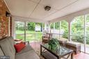 Gorgeous screened in porch - 5323 NEVILLE CT, ALEXANDRIA