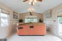 Sunroom equipped for hot tub - 22 BALLANTRAE CT, STAFFORD