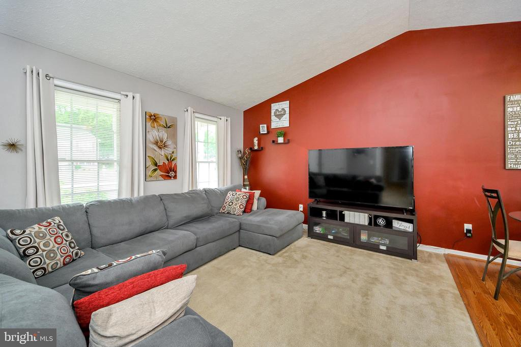 Large family room with windows - 10109 HERIOT ROW CT, FREDERICKSBURG