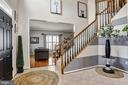 Grand Two Story Foyer | Living Room - 11000 COUNTRY CLUB RD, NEW MARKET