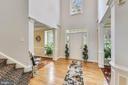 Foyer, looking at front door - 18503 PELICANS NEST WAY, LEESBURG