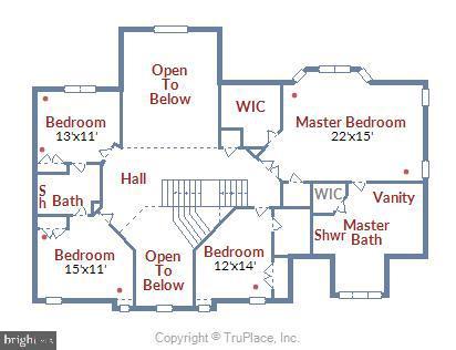 Upper Level Room Descriptions - 18503 PELICANS NEST WAY, LEESBURG