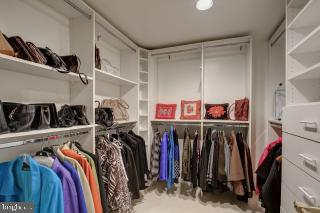 Closet in Master Bedroom - 5809 NICHOLSON LN #409, NORTH BETHESDA
