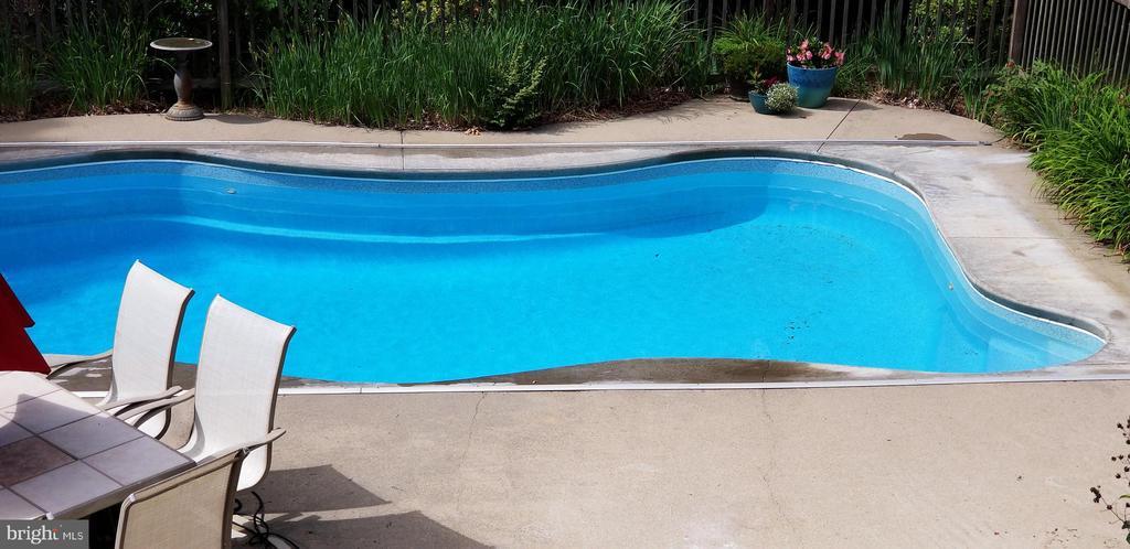 Gradual slope pool....3.5 - 7ft deep - 100 EMPRESS ALEXANDRA PL, FREDERICKSBURG
