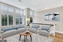 Living Room - 717 HOBART PL NW, WASHINGTON