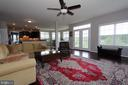Family room overlooking kitchen - 20999 HONEYCREEPER PL, LEESBURG