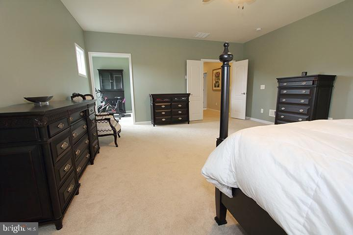 Master bedroom with sitting room - 20999 HONEYCREEPER PL, LEESBURG