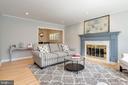 refinished wood floors, fresh paint - 3831 N ABINGDON ST, ARLINGTON