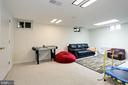 playroom, office, hobbies, crafts - 3831 N ABINGDON ST, ARLINGTON