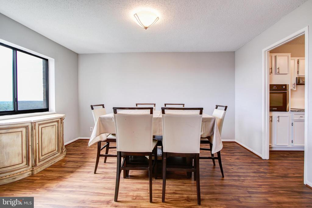 Separate Dining Room - 5902 MOUNT EAGLE DR #1406, ALEXANDRIA