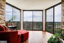 Sun Room/Screened-Porch Offers More Living Space! - 5902 MOUNT EAGLE DR #1406, ALEXANDRIA