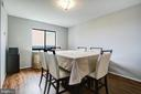 Dining Room - 5902 MOUNT EAGLE DR #1406, ALEXANDRIA