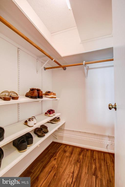 Large Walk-In Storage Closet off Hallway - 5902 MOUNT EAGLE DR #1406, ALEXANDRIA