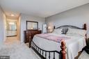Master Bedroom Suite - Opposite View - 5902 MOUNT EAGLE DR #1406, ALEXANDRIA