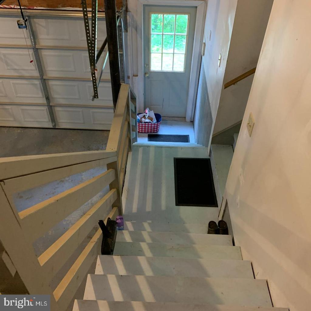 Stairs to the Storage/Play Area Above Garage! - 12210 GLADE DR, FREDERICKSBURG