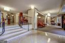 Beautifully Appointed Building Lobby - 5902 MOUNT EAGLE DR #1406, ALEXANDRIA