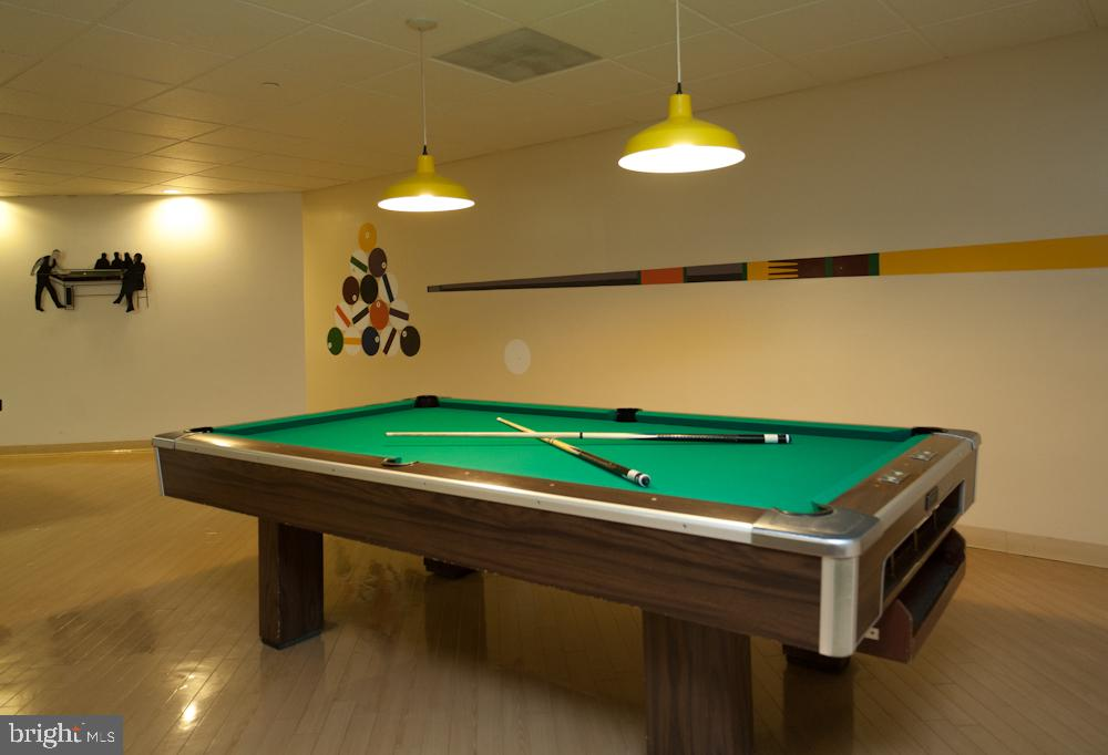 Montebello Community Center Billiards Room - 5902 MOUNT EAGLE DR #1406, ALEXANDRIA