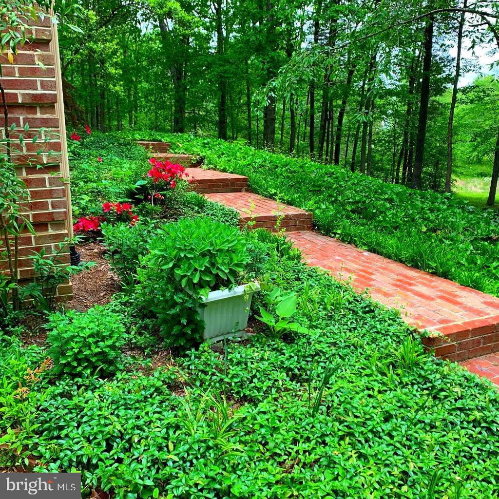 Flower Garden - Brick Walkway to Front! - 12210 GLADE DR, FREDERICKSBURG