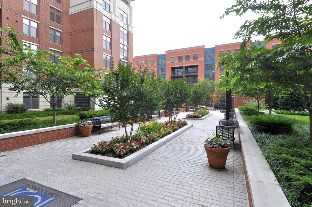 Courtyard - 1021 N GARFIELD ST #1030, ARLINGTON