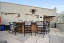 Roof top patio - 1021 N GARFIELD ST #1030, ARLINGTON