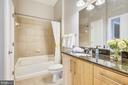 Bathroom with dual entrance - 1021 N GARFIELD ST #1030, ARLINGTON