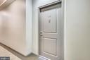 Penthouse unit just off elevator - 1021 N GARFIELD ST #1030, ARLINGTON
