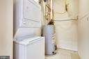 Separate laundry - utility room - 1021 N GARFIELD ST #1030, ARLINGTON