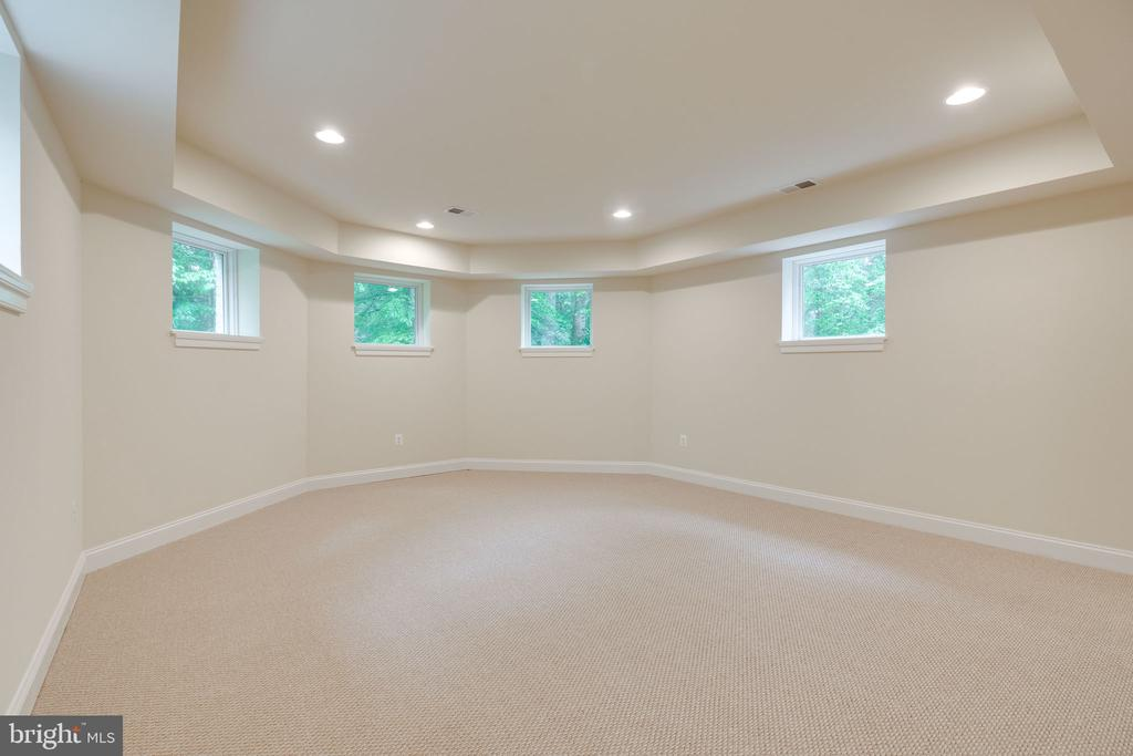 Flexible Space could be Media Room - 8506 SHADEWAY PL, SPRINGFIELD