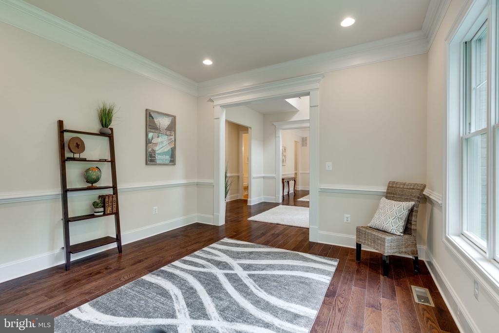 Office, Den or Formal Living Room - 8506 SHADEWAY PL, SPRINGFIELD