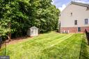 Fenced in area of backyard - 12103 SAWHILL BLVD, SPOTSYLVANIA