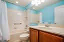 Basement full bath - 12103 SAWHILL BLVD, SPOTSYLVANIA