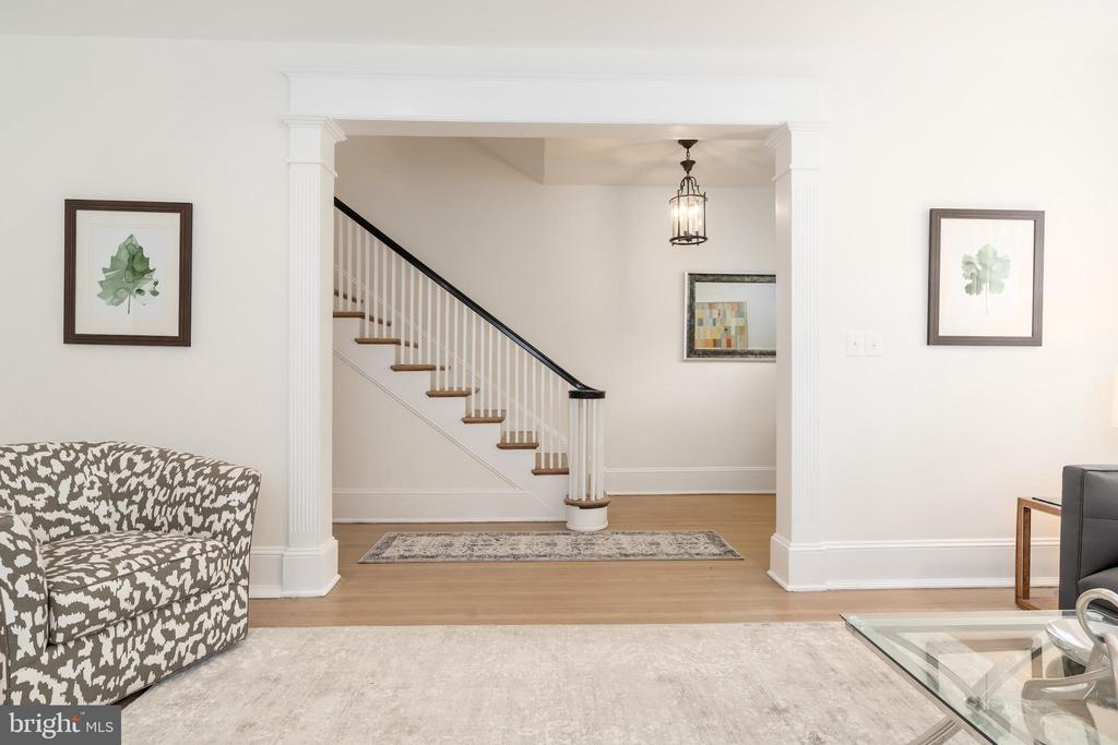 Stairway to Upper Levels - 2829 29TH ST NW, WASHINGTON
